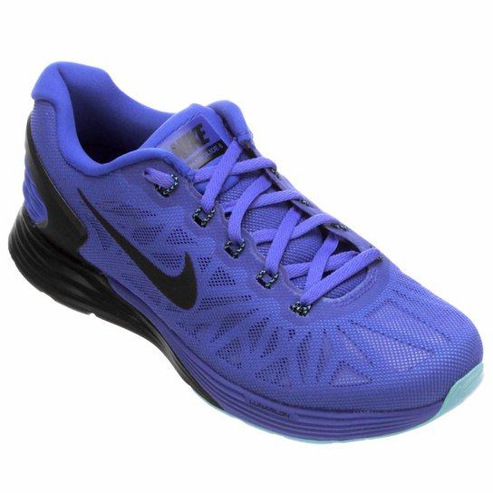 best website 84102 d2f3f TÊNIS NIKE LUNARGLIDE 6 MASCULINO Tênis Nike Lunarglide 6 Feminino - Roxo  ...