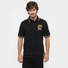 Camisa Polo Corinthian-Casuals Retrô Ouro Masculina b5e770320a6a6