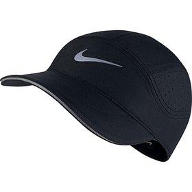 Boné Nike Aba Curva U Nsw H86 Futura Washed - Preto e Branco ... b556ea422ca