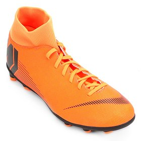 ef370ebf4bcdb Chuteira Campo Nike Mercurial Superfly 6 Club CR7 MG - Vermelho e ...
