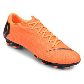 4ac2db8a979 Chuteira Campo Nike Mercurial Superfly 6 Academy - Laranja e Preto ...