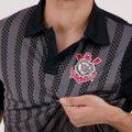 133dd008c Camisa Polo Corinthians Dark Side Masculina - Compre Agora