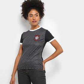 36711eb9d3e76 -66%. (6). Camisa Corinthians Libertados C  Patch Feminina
