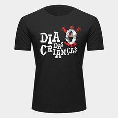 Camiseta Corinthians Dia das Crianças Masculina db43accb7c235