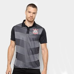 004d3a9afac40 Camisa Polo Corinthians New Element Masculina