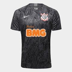 f5c100cc96 Camisa Corinthians II 18 19 s n° Patrocínio BMG Torcedor Nike Masculina