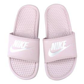 aa8c9d037294ac Chinelo Nike Benassi JDI Slide Feminina - Preto e Branco | Shop Timão
