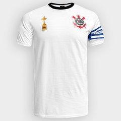 Camiseta Corinthians Capitães Libertadores 2012 n° 2 Masculina 434b6aec22dab