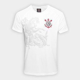 855f2c1d71 Camisa Corinthians São Jorge Edição Limitada C  Patch Masculina ...