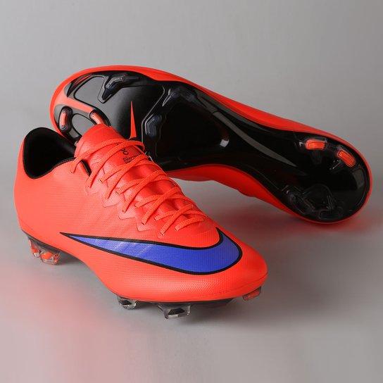 f7eeae8ef9188 Chuteira Nike Mercurial Vapor X FG Campo - Compre Agora