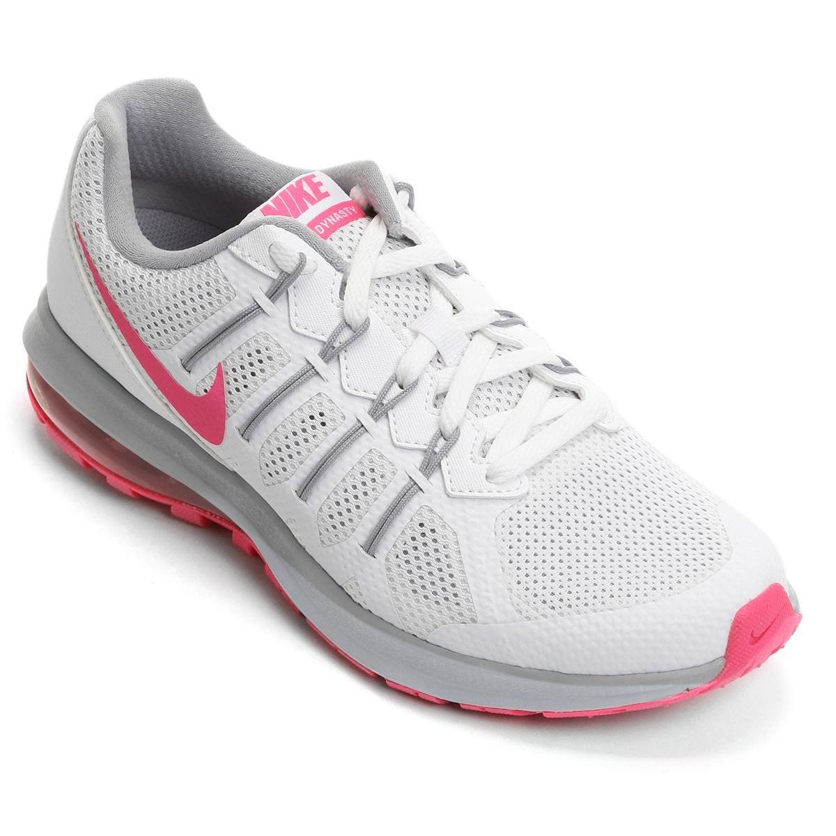 5bcbb95c6cb ... ZOOM Tênis Nike Air Max Dynasty MSL Feminino - Branco e Rosa tenis nike  air max ...