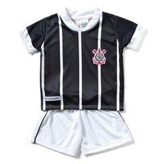 f4cb809f835f0 Conjunto Corinthians Sublimado Camiseta + Short Infantil