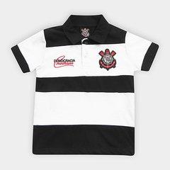 a73a654c5dde3 Camisa Polo Infantil Corinthians Democracia 1982
