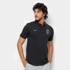 Camisa Polo Corinthians Nike Masculina dcd6e077ab078