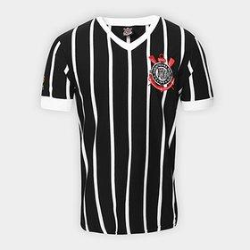 Camisa Corinthians Casuals Réplica Masculina - Rosa e Marrom ... c2acc741011cc