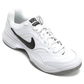 db3c758bc Tênis Infantil Nike Downshifter 6 Masculino - Branco e Cinza ...