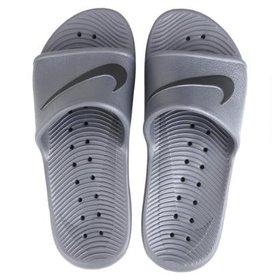 1be9db9d89 Chinelo Nike Benassi Solarsoft - Preto e Branco - Compre Agora ...
