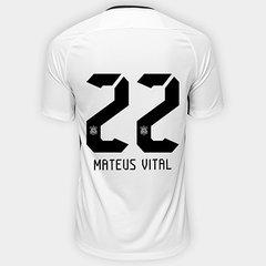 b5cba0cdb69f7 Camisa Corinthians I 17 18 nº 22 Mateus Vital - Torcedor Nike Masculina
