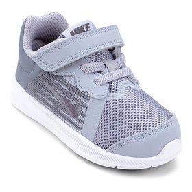 9b65cdd6647 Tênis Infantil Nike Downshifter 8 Gtv Com Velcro Feminino - Azul ...