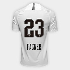 Camisa Corinthians I 18 19 Nº 23 Fagner - Torcedor Nike Masculina 4ca1676902bbd