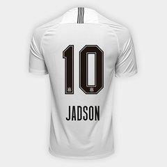 Camisa Corinthians I 18 19 Nº 10 Jadson - Torcedor Nike Masculina 7a498fa62356f