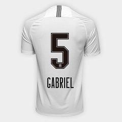 698cde4d52 Camisa Corinthians I 18 19 Nº 5 Gabriel - Torcedor Nike Masculina