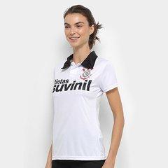 Camisa Polo Corinthians 1995 n° 9 Feminina 7639448b4d277