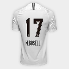 53c4cd0465 Camisa Corinthians I 18 19 n° 17 - M.Boselli Torcedor Nike Masculina