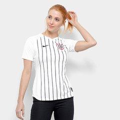 8b76a89738 Camisa Corinthians I 19 20 s nº Torcedor Nike Feminina