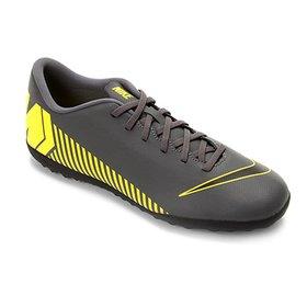 d5ccb5ab44fa0 Chuteira Society Nike Tiempo Finale TF - Vermelho e Branco - Compre ...