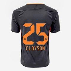 b9fc8ebe0b Camisa Corinthians III 17 18 nº 25 Clayson - Torcedor Nike Masculina