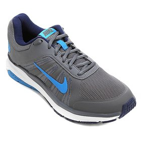 5313c31fddf Tênis Nike Dart 12 MSL Feminino - Azul Claro e Branco - Compre Agora ...