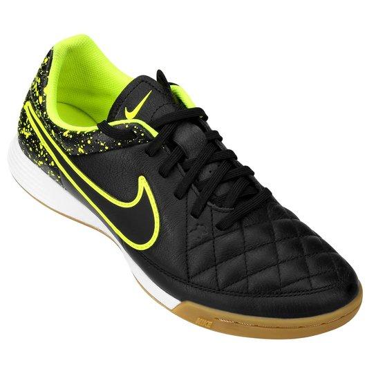 f2b7a64e5468a Chuteira Nike Tiempo Gênio Leather IC Futsal - Compre Agora