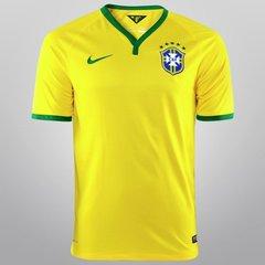 e72d37fb7bf38 Camisa Nike Seleção Brasil I 14 15 s nº - Torcedor