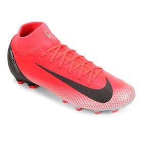 a2cd575fab174 Chuteira Campo Nike Mercurial Superfly 6 Club CR7 MG - Vermelho e ...