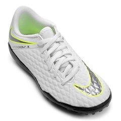 fcc52ac011 Chuteira Society Infantil Nike Hypervenom 3 Academy TF