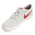 d3b454257 Tênis Nike Sb Check Solar Cnvs Masculino - Branco e Vermelho ...