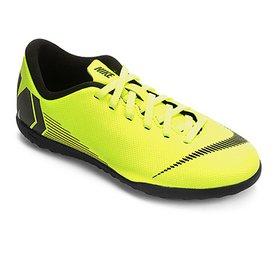 -28%. (1). Chuteira Society Infantil Nike Mercurial VaporX 12 Club GS TF 16edabdd49b54