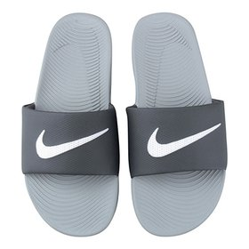 de66753da072 Sandália Nike Kawa Slide Masculina - Preto e Branco - Compre Agora ...