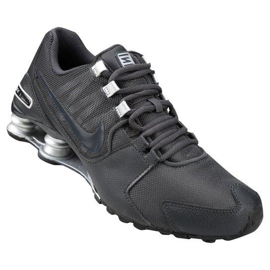 low priced 250a6 7de52 ... Tênis Nike Shox Avenue Masculino - Chumbo e Cinza ...