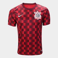 Camisa Corinthians Pré Jogo 19 20 Nike Masculina dae8af6dd309d