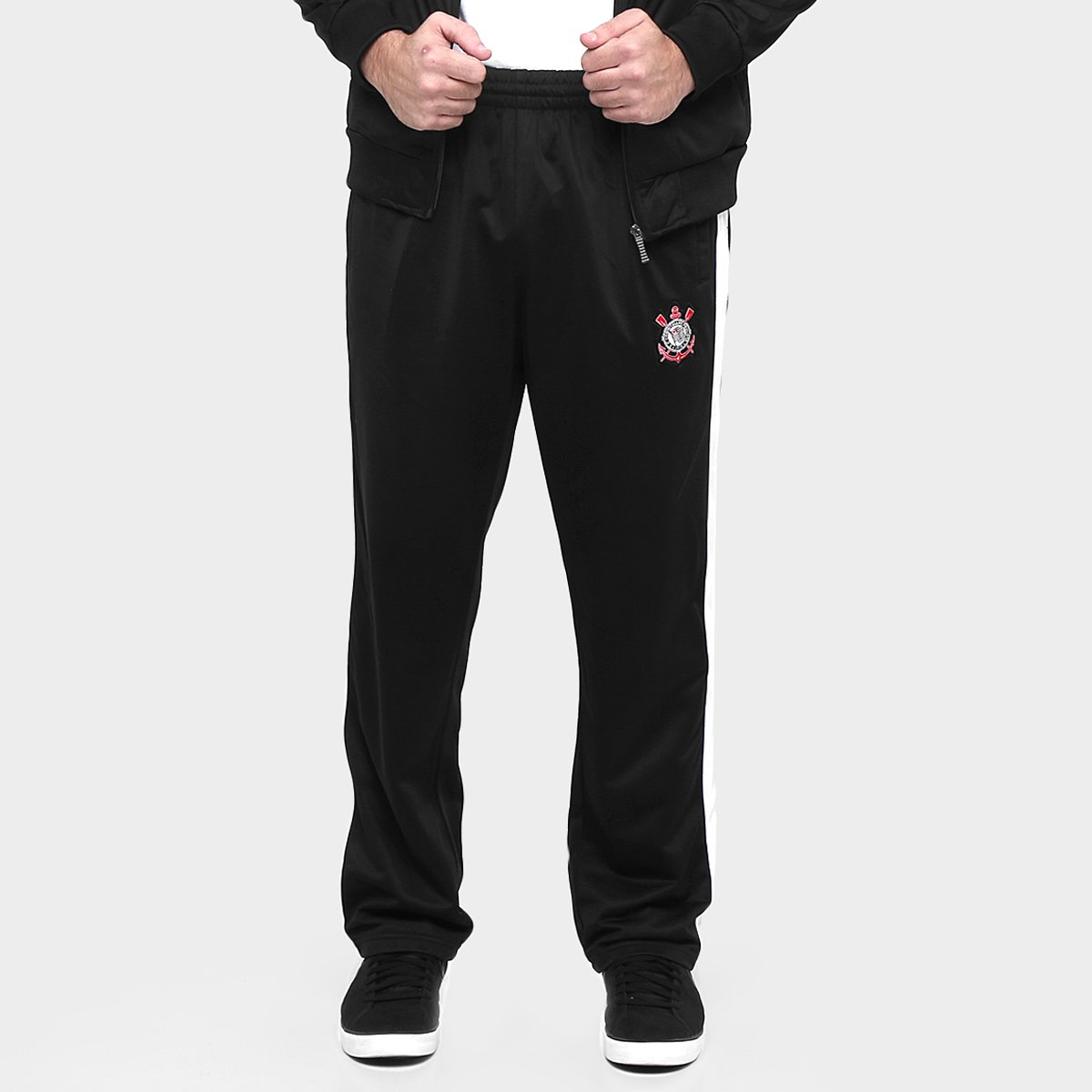 Agasalho Corinthians Trilobal Fuze Masculino - Compre Agora  2e3763dee16ef