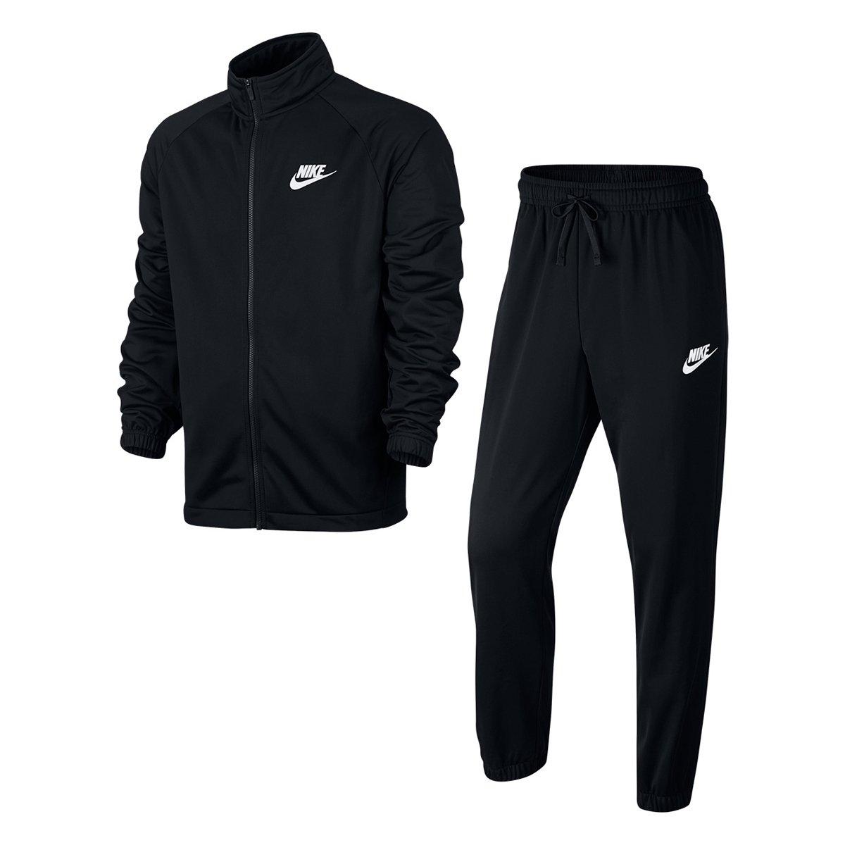 07afe6ebb5 Agasalho Nike Trk Suit Pk Basic Masculino - Preto e Branco - Compre Agora