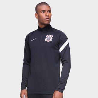 Blusa Corinthians Treino 20/21 Nike Masculina