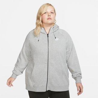 Blusão Nike Sportswear Essential Hoody Plus Size Feminino