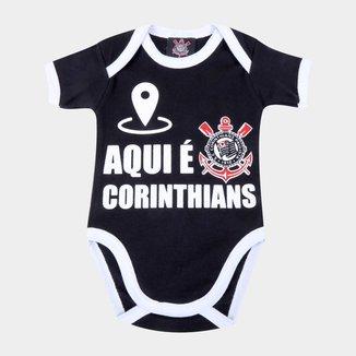 Body Infantil Corinthians Nação