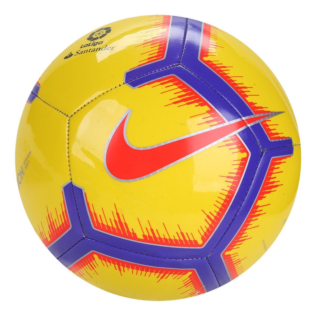 Bola de Futebol Campo Nike La Liga Pitch - Amarelo - Compre Agora ... ebf4b0608cac2