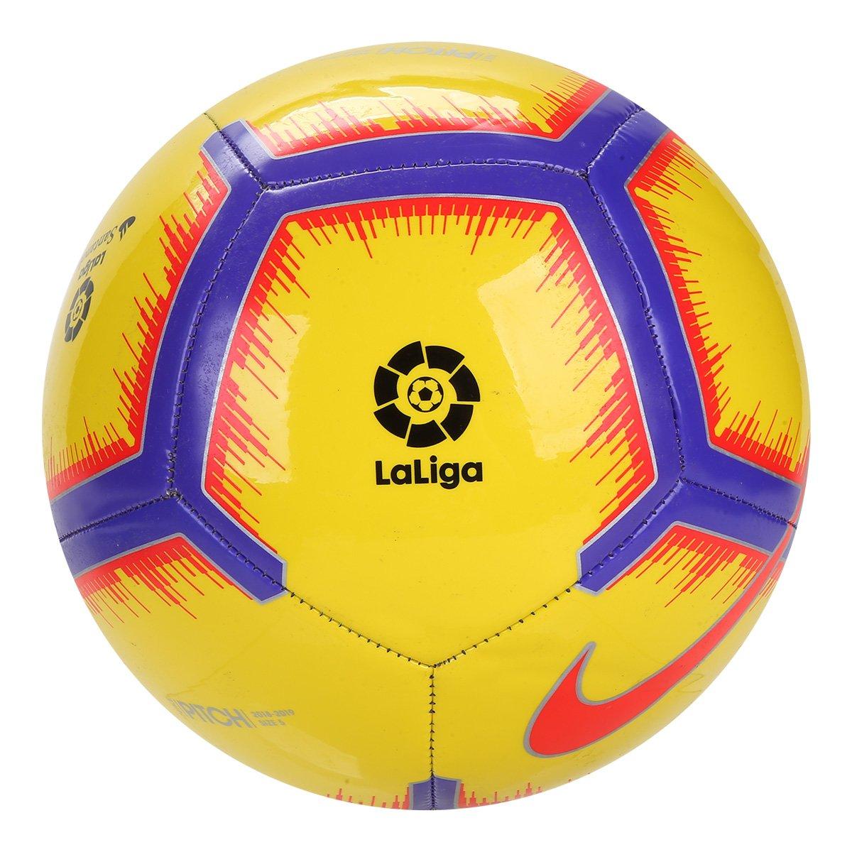 7acb1245a0 Bola de Futebol Campo Nike La Liga Pitch - Amarelo - Compre Agora ...