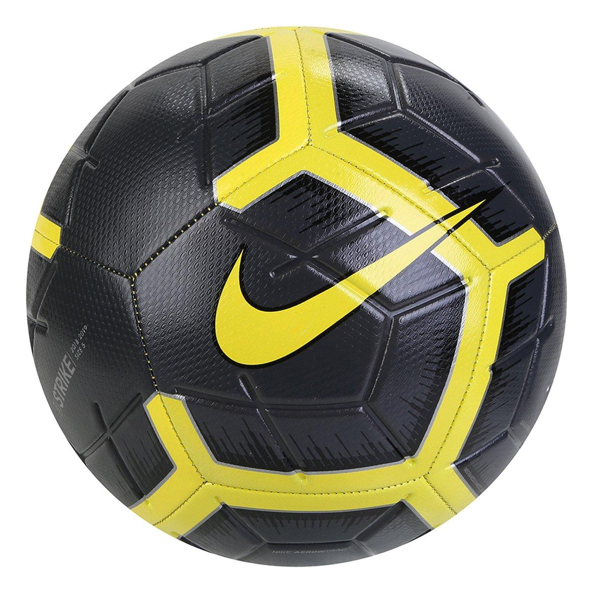 64709bbdbf5de Bola de Futebol Campo Nike Strike - Amarelo e Preto - Compre Agora ...