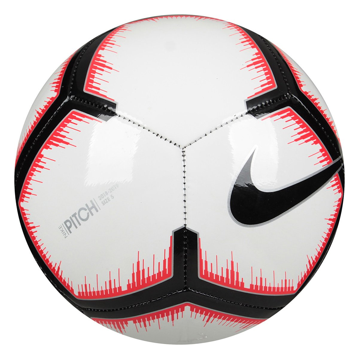 1e5e11d5e17f1 Bola de Futebol Campo Pitch Nike - Branco e Preto - Compre Agora ...
